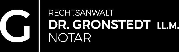 Notar Dr. Gronstedt, LL.M. Logo