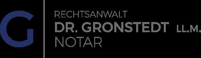 Notar Dr. Gronstedt Logo